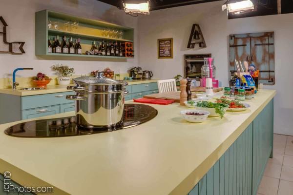 מטבח כפרי מודרני