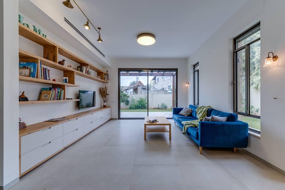 נגרות בית בדירת גן בהרצליה